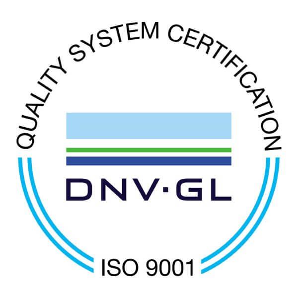 ISO-9001-DNVGL Logo G&B Fissaggi
